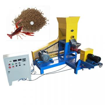 Automatic Feed Machine Production Line Aquatic Fish Feed Pellet-Fodder Expander Cat Dog Food Pellet Extruder Making Machine