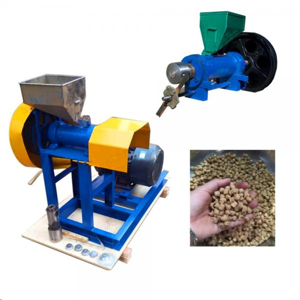 Automatic Animal Dog Cat Fish Food Making Machine Manufacturer Price
