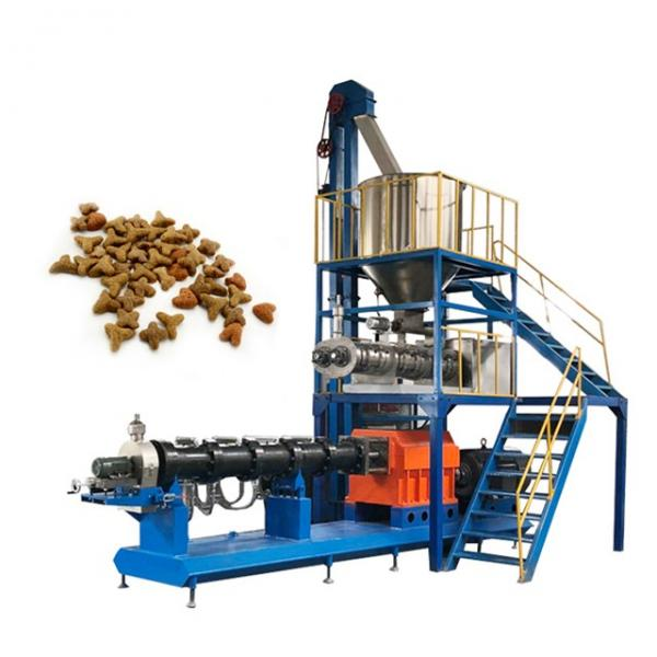 2020 Hot Sales Automatic Dry Pet Dog Cat Fish Food Manufacturing Making Extruder Machinery