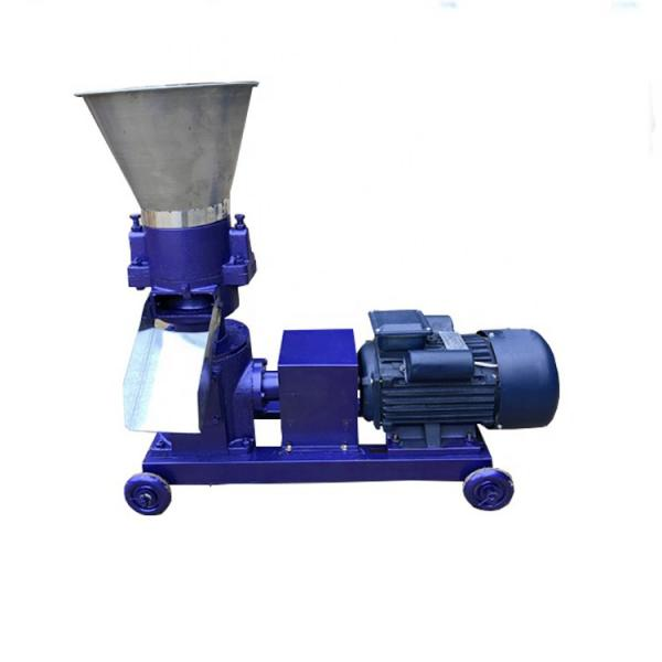 Animal Cow Feed Making Processing Chicken Poultry Fodder Pellet Machine