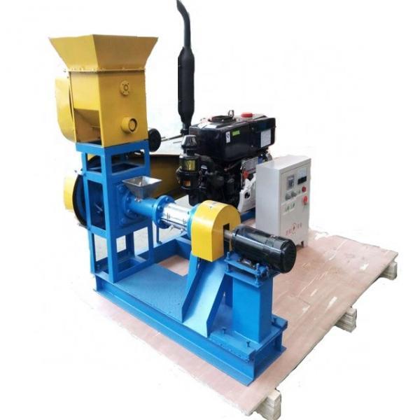 Automatic Aquatic Feed Pellet Bulking Machine Pet Fish Food Extrusion Production Plant