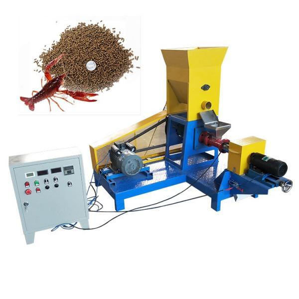 Ornamental Farm Catfish Carps Shrimp Fish Feed Production Line Floating Food Pellet Machine